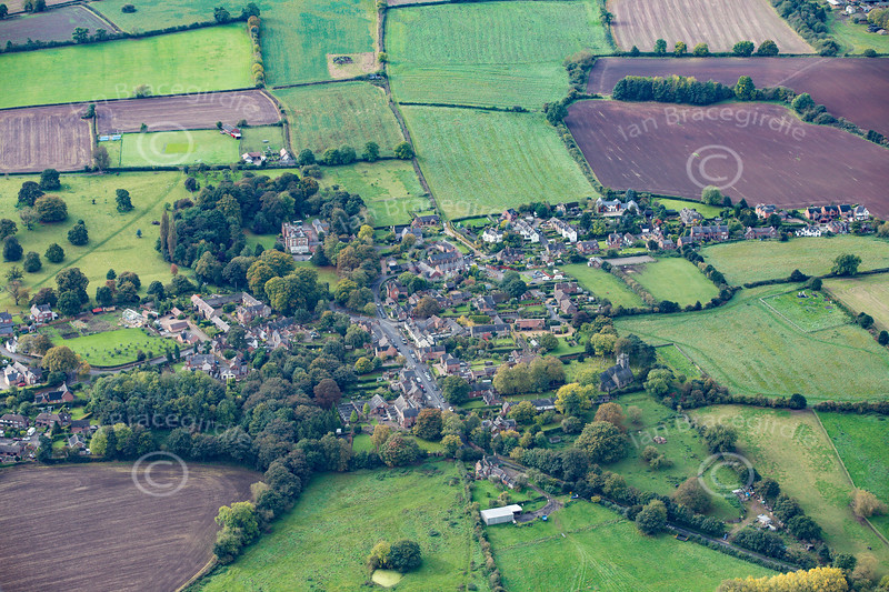 Aerial photo of Stanton by Dale.