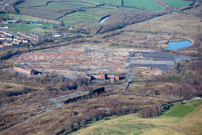 Staveley from the air.
