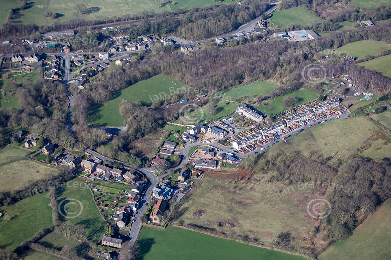 Unstone from the air.