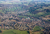 Aerial photo of Wirksworth.