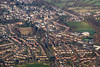Aerial photo of Wirksworth.