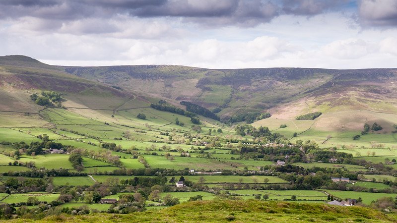 Kinder Scout above Edale