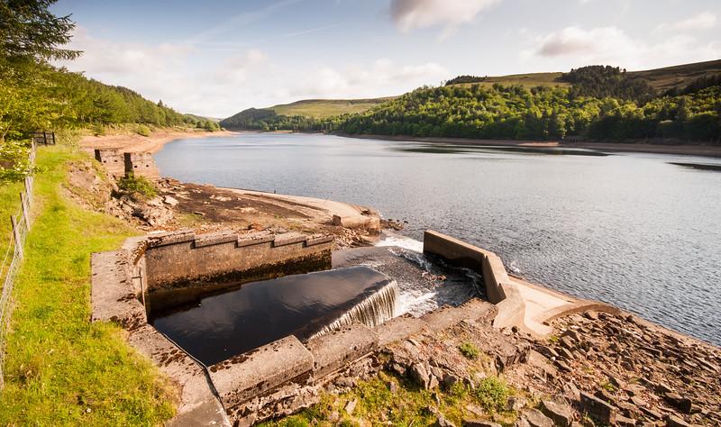 Derwent Reservoir in the Peak District
