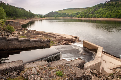 Derwent Reservoir in the Peak District