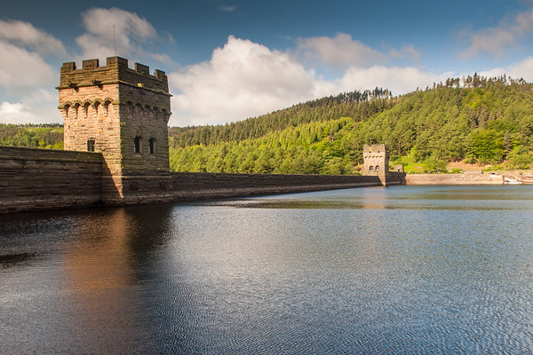 Derwent Dam in Derbyshire