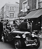 Portabello Road 1966. Friends from Central St Martins Art Collage and the LSE. My 1934 Hillman Aero Minx.