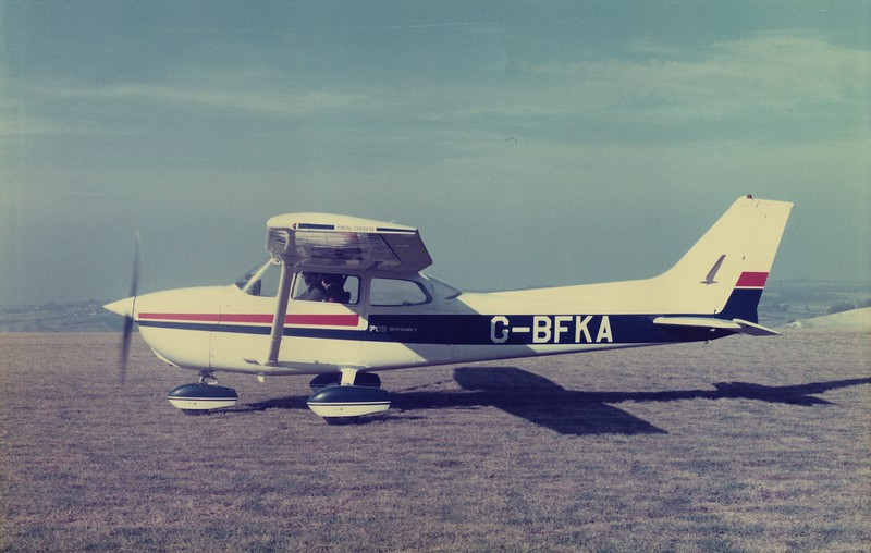My beautiful Cessna 172. Used for various shoots including the Optrex poster and NABS charity parachute jump