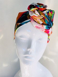 Anne-Marie McGowan designed & made head ware.