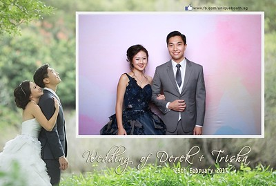 Derek + Trisha Photobooth Album