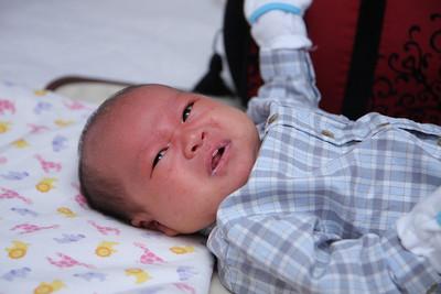 Derek's first month