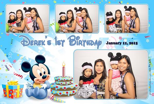 Derek's 1st Birthday (Fusion Photo Booth)