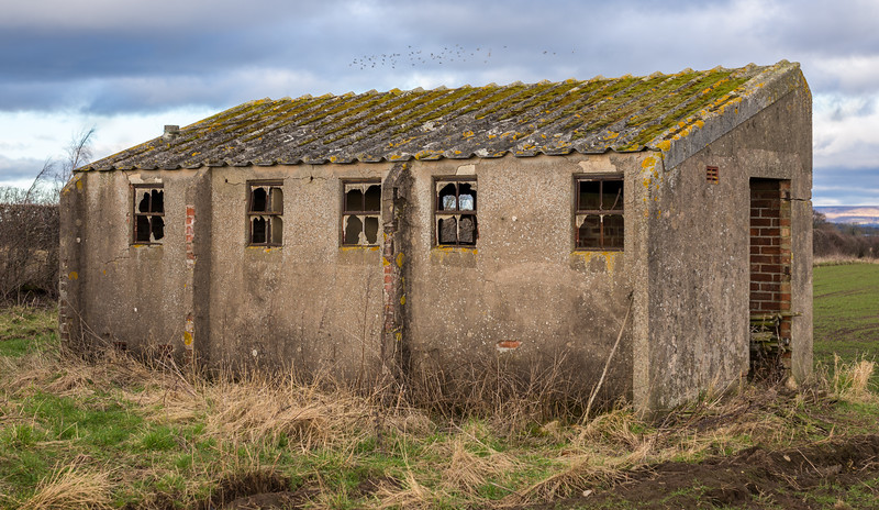 Derelict RAF Building #3 -  Nr Skipton-On-Swale North Yorkshire UK 2018