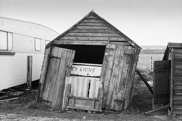 Old Shed - Filey North Yorkshire UK 1980's