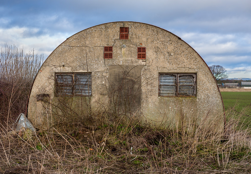 Derelict RAF Building #1 -  Nr Skipton-On-Swale North Yorkshire UK 2018