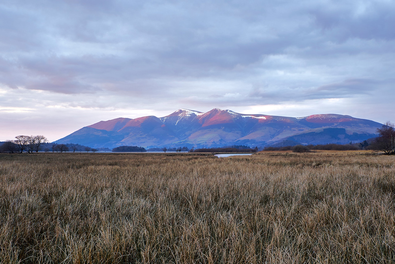 Skiddaw Sunset