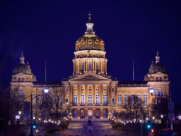 Capitol Blue Hour