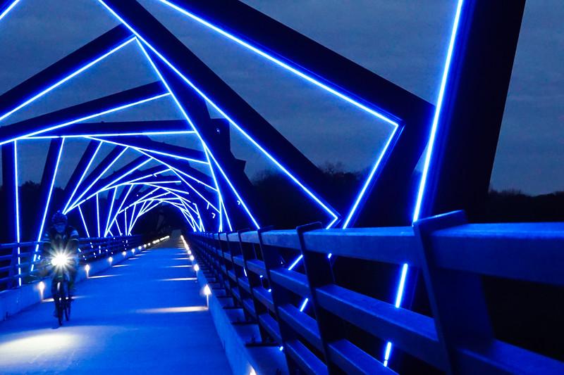 Biking the Bridge