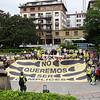 Concentración en Getxo contra la venta ilegal de armas españolas