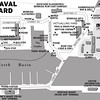 Visitor map of the dockyard