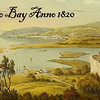 Old postcard view of Montego Bay in 1820, 25 years after the death of Benedict Arnold Jr.