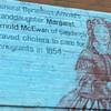 The part of the mural honoring Arnold's granddaughter. Photo courtesy of Kristi Setterington.