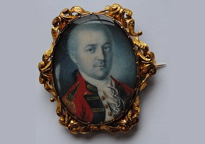 Miniature Portrait of Benedict Arnold *