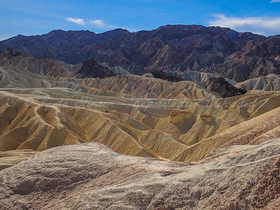 Colorful Mountains of Zabriskie Point