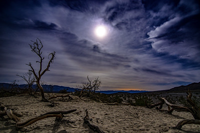 Moonscape in Death Valley