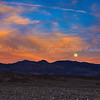 Moon rising near Kit Fox Hills...