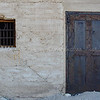 Old Jail with a couple of bullet holes in the door...