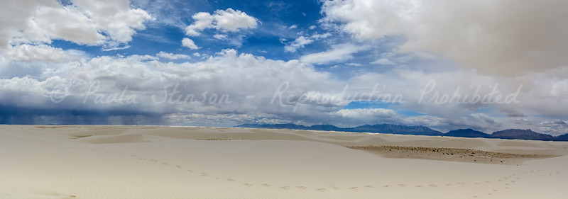 Clouds over White Sands...