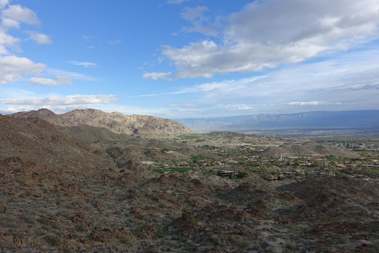 Above the exclusive Bighorn community
