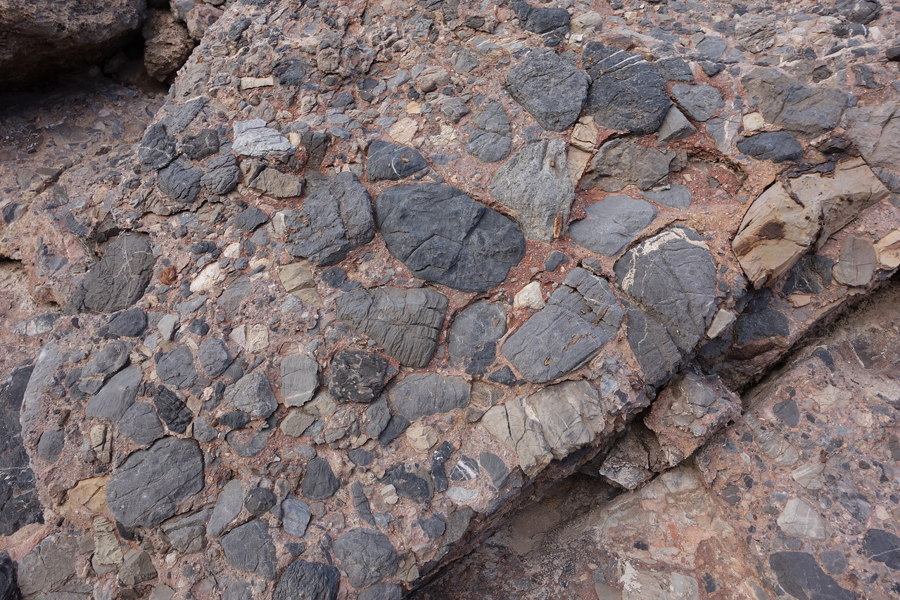 Lots of cool conglomerate