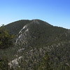 Fletcher Peak from North Loop trail.