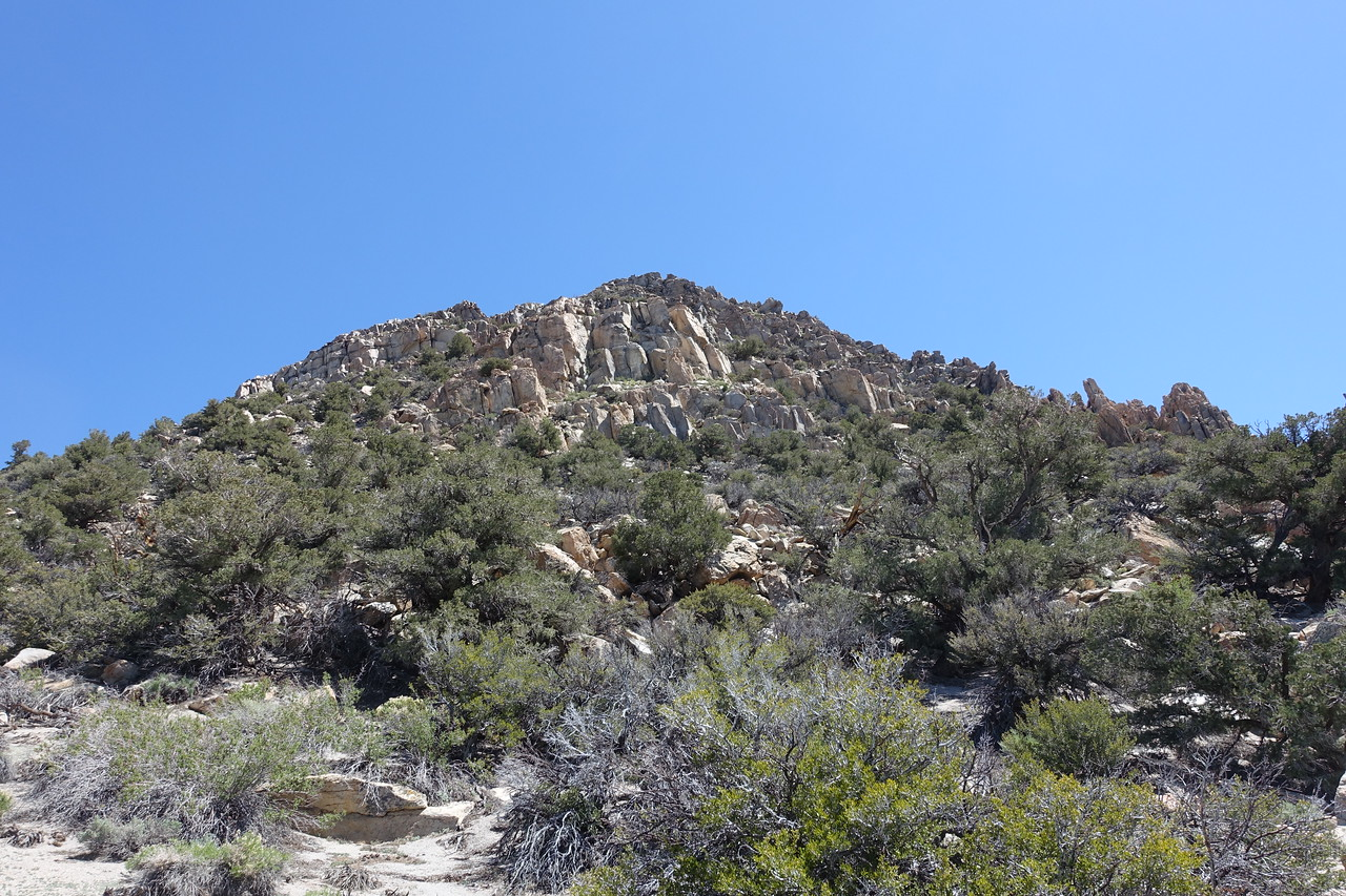 Granite Mountain from the west