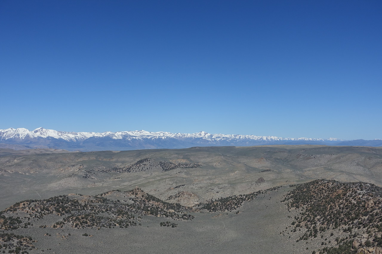 View NW - that's Dunderburg as the highest peak right of center