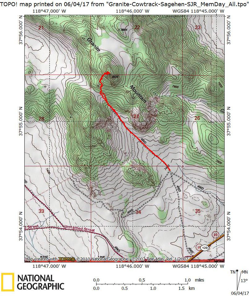 Granite Mountain track