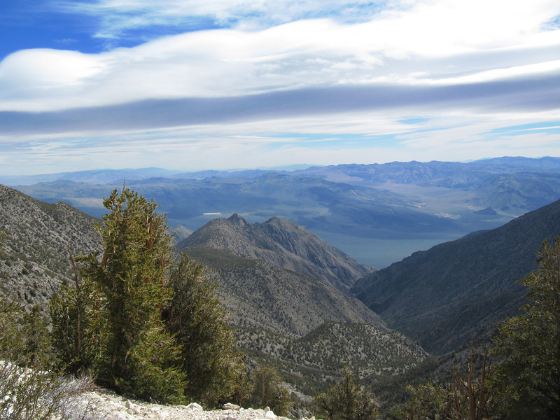 McElvoy Canyon to the east