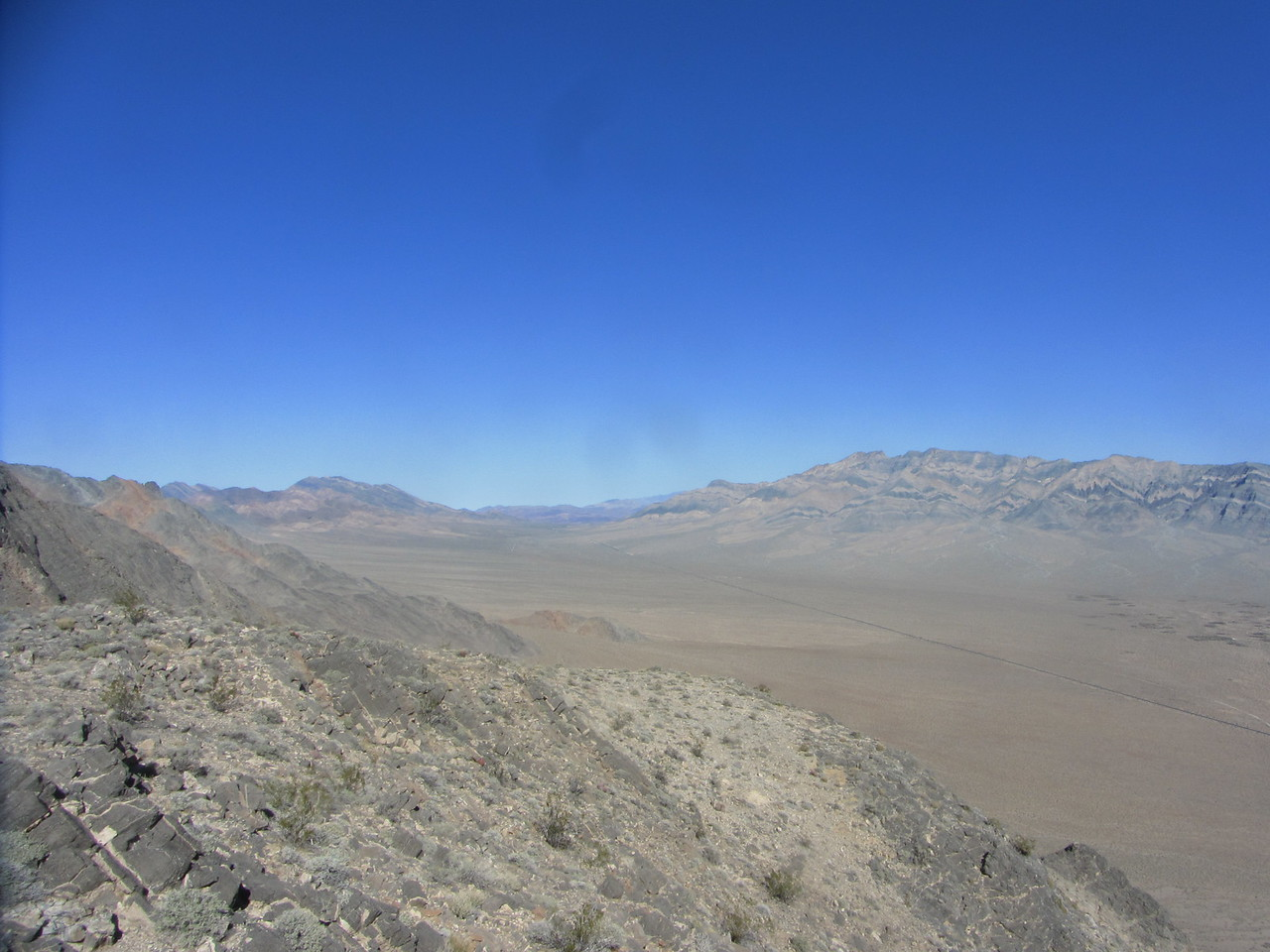 View N.  Pahrump Point out on the right