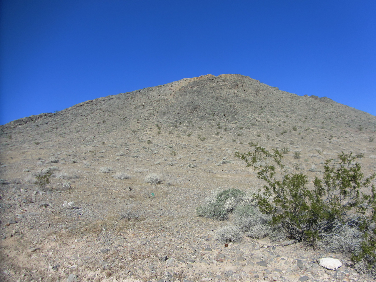 The ridge we gained and followed from parking area.