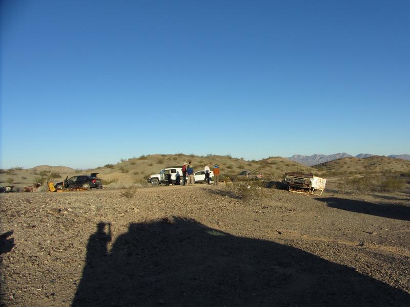 Plentiful camping a the War Eagle Mine