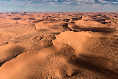 The Waves of the Desert