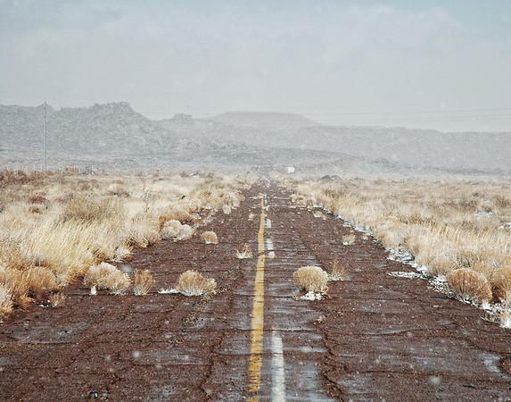 Arizona Snowy Highway