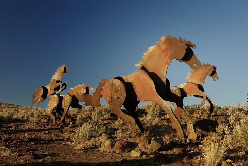 Washington State Wild Horses Monument