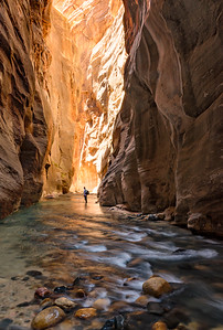 The Narrows - Virgin River, Zion National Park, Utah - Mark Gromko - May 2015