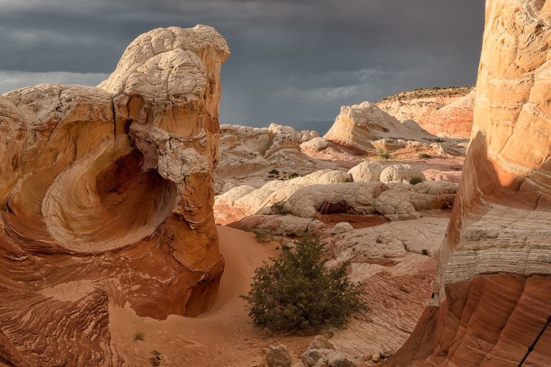 The Inner Ear - White Pocket, Grand Staircase Escalante National Monument, Utah - Mark Gromko - March 2016
