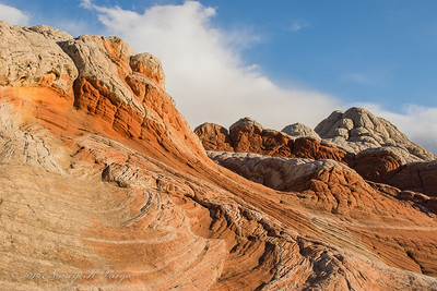 Swirling Geology - White Pocket, Vermillion Cliffs National Monument, Arizona - Nancy Varga - March 2016