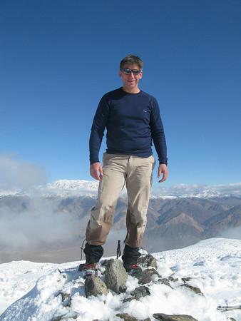 Slate Benchmark and Searles Peak 01-23-2010