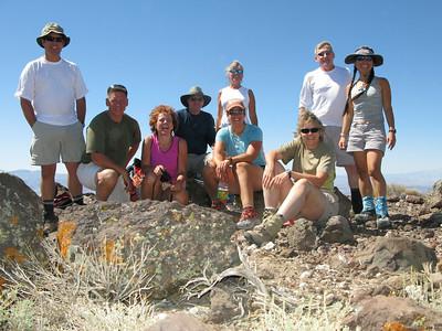 Towne Peak(x3) and Albatross wreck 09-06-2008