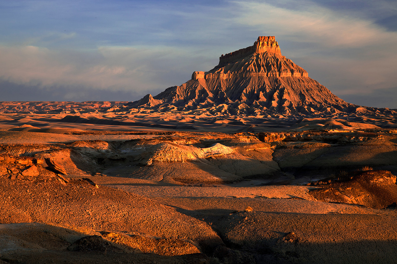 Factory Butte, Sunrise #1